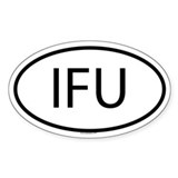 IFU Oval Decal