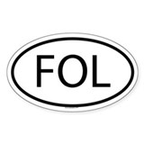 FOL Oval Decal