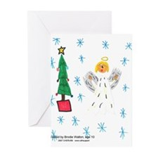 Holiday Artist Brodie Walton Greeting Cards (Pk of