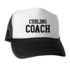 CURLING Coach Trucker Hat