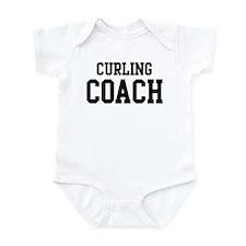 CURLING Coach Infant Bodysuit