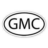 GMC Oval Decal
