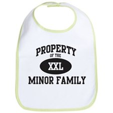 Property of Minor Family Bib
