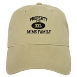 Property of Mims Family Baseball Cap