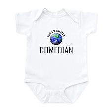 World's Greatest COMEDIAN Infant Bodysuit
