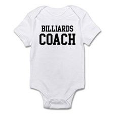 BILLIARDS Coach Infant Bodysuit