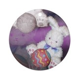 Ostara &quot;Easter&quot; Bunny w/ Ball Keepsake (Round)