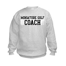 MINIATURE GOLF Coach Sweatshirt