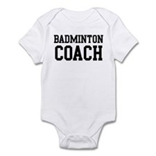 BADMINTON Coach Infant Bodysuit