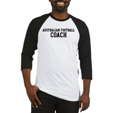 AUSTRALIAN FOOTBALL Coach Baseball Jersey