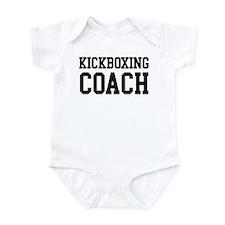 KICKBOXING Coach Infant Bodysuit