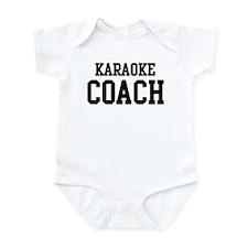 KARAOKE Coach Infant Bodysuit