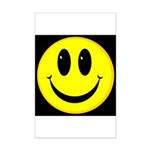 Happy Face Mini Poster Print