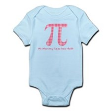 My Mommy Teaches Math (pink) Infant Bodysuit
