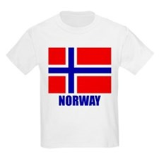 "Norwegian Flag ""Norway"" T-Shirt"