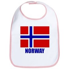 "Norwegian Flag ""Norway"" Bib"