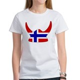 Norwegian Viking Helmet Tee