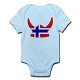 Norwegian Viking Helmet Onesie