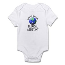World's Greatest CLERICAL ASSISTANT Infant Bodysui