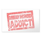 German Shepherd ADDICT Decal