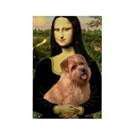 Mona / Norfolk Terrier Rectangle Magnet