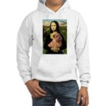 Mona / Norfolk Terrier Hooded Sweatshirt