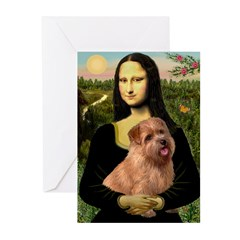 Mona / Norfolk Terrier Greeting Cards (Pk of 20)