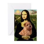 Mona / Norfolk Terrier Greeting Cards (Pk of 10)