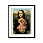 Mona / Norfolk Terrier Framed Panel Print