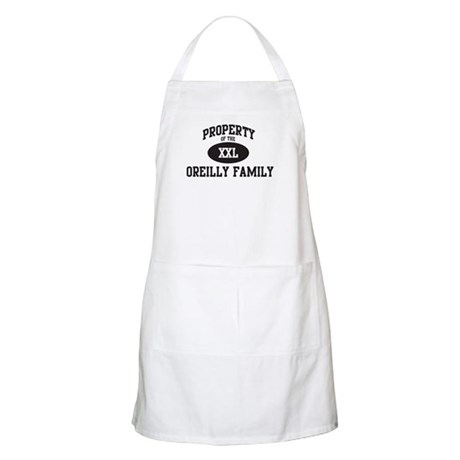 Property of Oreilly Family BBQ Apron