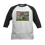 Lilies / Nor Elkhound Kids Baseball Jersey
