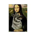 Mona / Nor Elkhound Rectangle Magnet (10 pack)