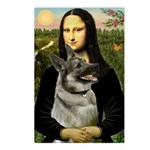 Mona / Nor Elkhound Postcards (Package of 8)