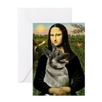 Mona / Nor Elkhound Greeting Card