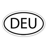 DEU Oval Decal