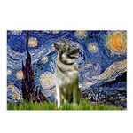 Starry / Nor Elkhound Postcards (Package of 8)