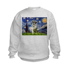 Starry / Nor Elkhound Kids Sweatshirt