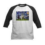 Starry / Nor Elkhound Kids Baseball Jersey