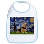 Starry /Norwich Terrier Bib