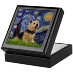 Starry /Norwich Terrier Keepsake Box
