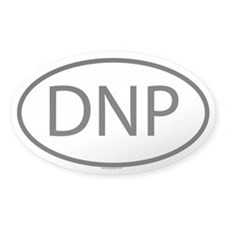 DNP Oval Decal