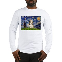 Starry Night / PBGV Long Sleeve T-Shirt