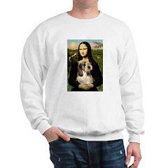 Mona Lisa / PBGV Sweatshirt