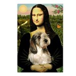 Mona Lisa / PBGV Postcards (Package of 8)