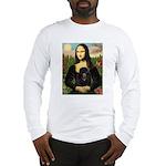 Mona / Poodle (bl) Long Sleeve T-Shirt