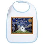 Starry Night / Poodle(w) Bib