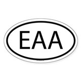 EAA Oval Decal