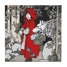 Webb's Little Red Riding Hood Tile Coaster