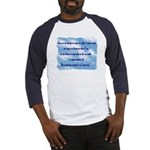 Serenity Slogan (clouds) Baseball Jersey