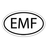 EMF Oval Decal